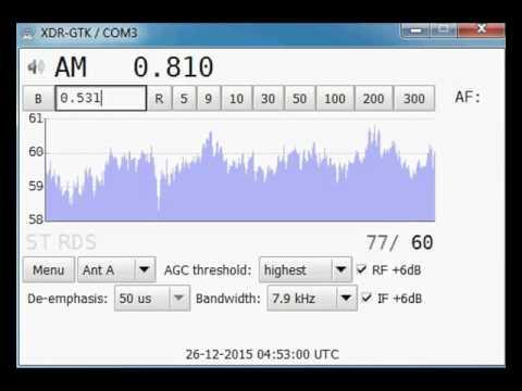 [MW] 810 kHz - Makedonsko Radio 1/Radio Skopje - Ovče Pole - 1308 km