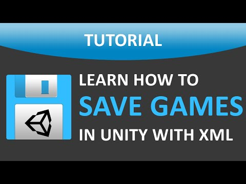 How To Save Your Game In Unity® with XML | Files Included