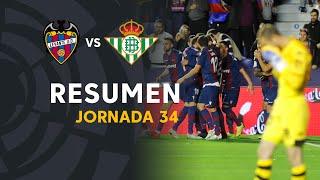 Resumen de Levante UD vs Real Betis (4-0)