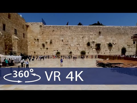 Israel - The Holy Land In 360 VR (Click On English Subtitles)