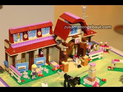 Toy Fair 2016: Lego Friends Amusement Park and Horse Riding Club
