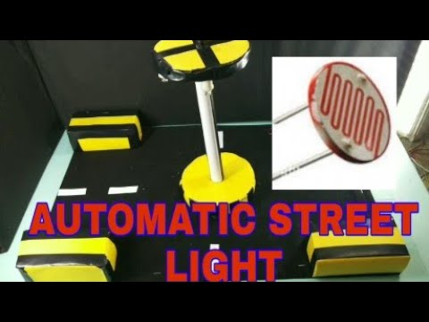 How to make automatic street light with ldr