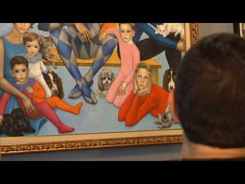 The Jerry Lewis Family by Margaret Keane