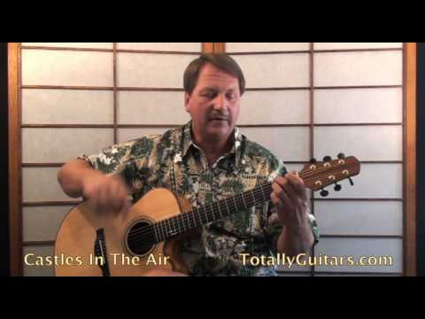 Castles In The Air Acoustic Guitar lesson