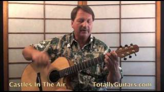 Don McLean - Castles In The Air Acoustic Guitar lesson