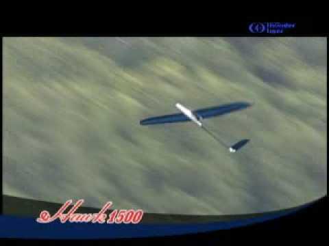 Thunder Tiger E-Hawk 1500 Glider Original Factory Video