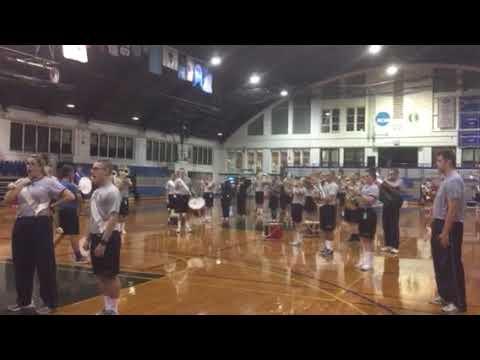 US Merchant Marine Academy Band Beat Retreat Rehersal