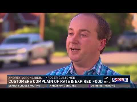 Customers complain Kroger is selling expired food