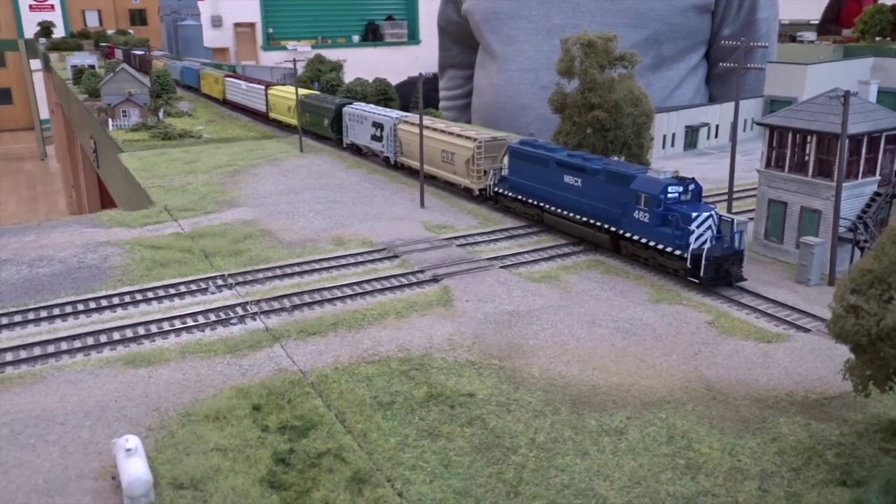 Midland Belt RR - an HO scale modular model railroad