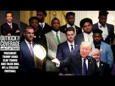 President Trump Says NBA is Killing Its TV Ratings By Pushing Politics