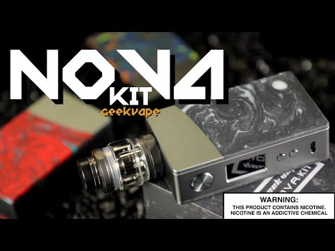 NOVA 200W KIT With Cerberus Mesh Tank By Geekvape ~Vape Kit Review~