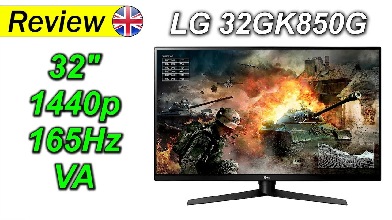 LG 32GK850G | 32` 1440p 165Hz    done right!