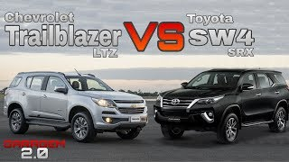 Chevrolet Trailblazer VS Toyota SW4 - (Garagem 2.0)