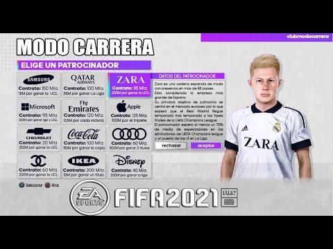 EA SPORTS REVELA 7 GRANDES NOVEDADES PARA MODO CARRERA DE FIFA 21.