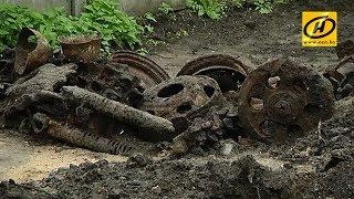 Танк времён Второй мировой войны нашли во время закладки фундамента дома