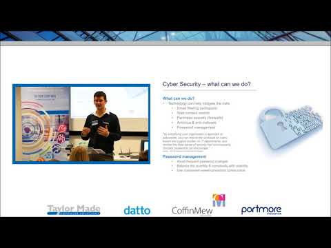 Taylor Made Computer Solutions Cyber Security Event