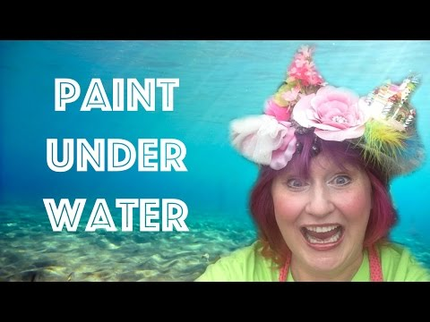 4 Steps to UNDER WATER Success in Acrylic #bigartquest #19