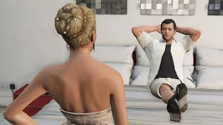 GTA 5 - Best Girlfriend Mission! (Michael and Bride)