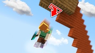 Fly Hacker Falls For Skybase Trap (Minecraft Skywars Trolling)