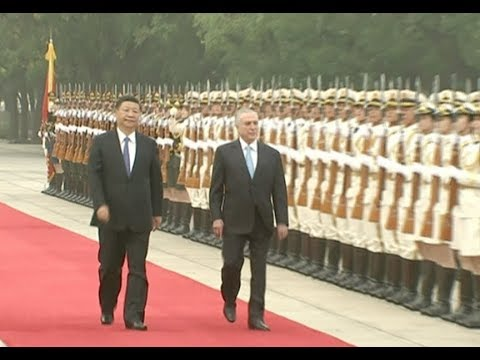 Xi Holds Ceremony to Welcome Visiting Brazilian President