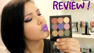 Makeup Geek Eyeshadow Review ! | Thebarcelonaedit