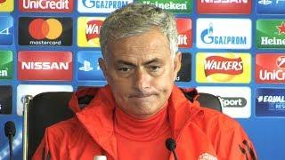 Jose Mourinho Full Pre-Match Press Conference - Manchester United v Basel - Champions League