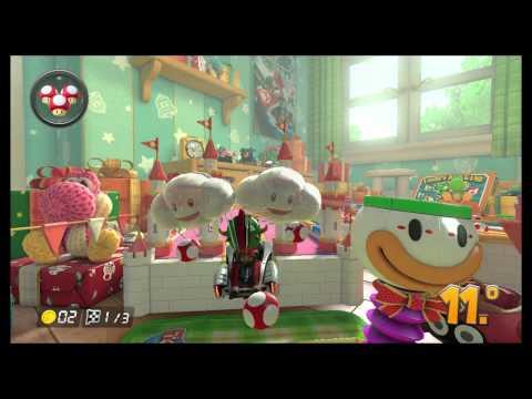 [Wii U] Mario Kart 8 (DLC Pack 2) - Taça Guizo online (60fps)