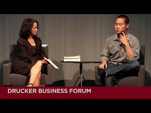 Tony Hsieh in conversation with Lisa Napoli