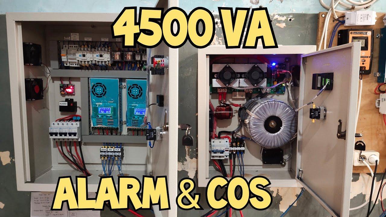 Cara pasang panel box inverter travo 4500 VA 2 SCC