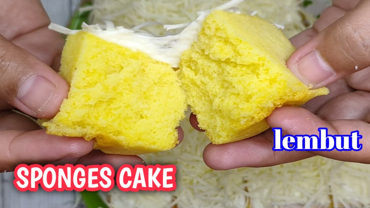 SPONGES CAKE ANTI GAGAL 🥰