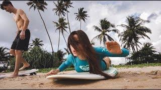 SriLanka #2. Цены на фрукты. Серфинг. Тусовка на яхте. Отмечаем ДР