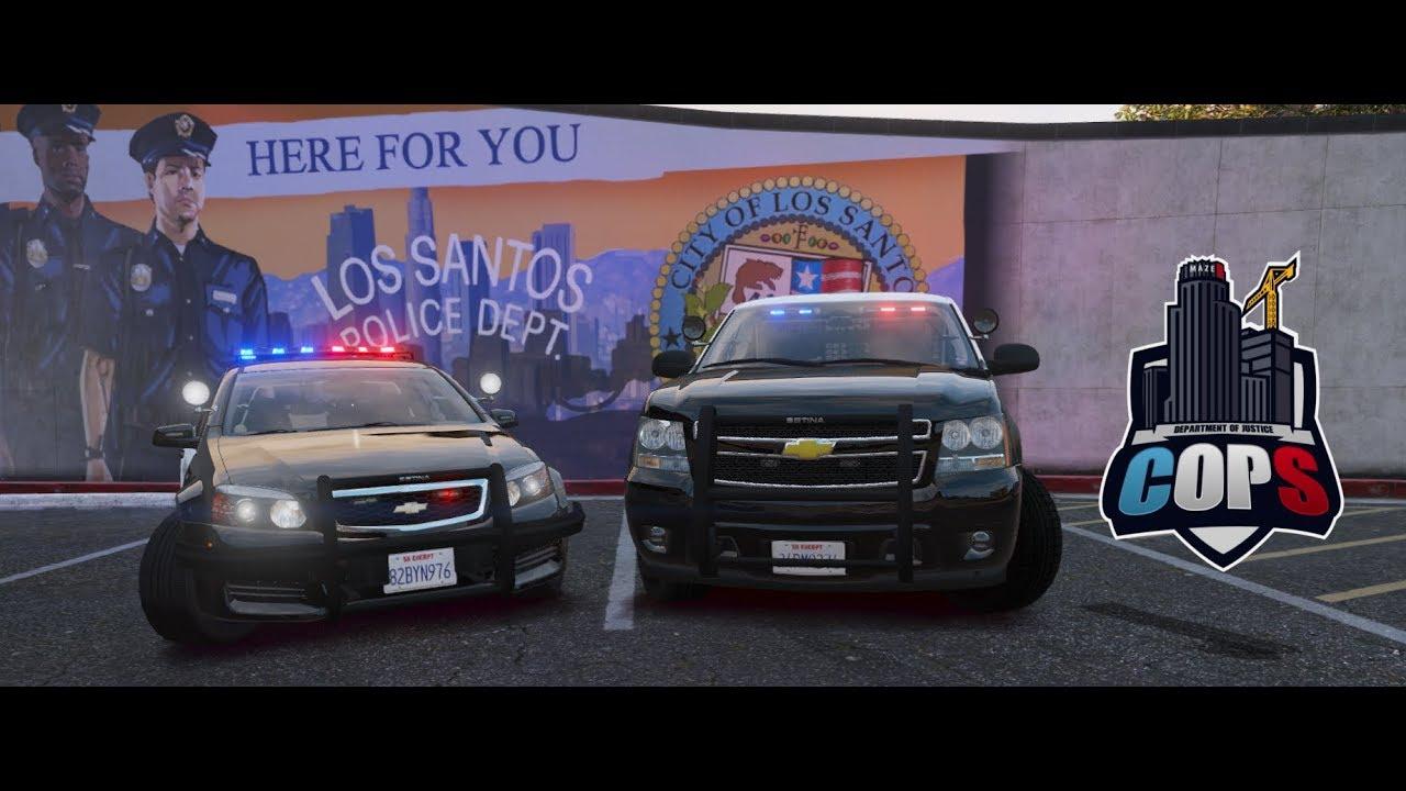 DOJRP Fleet Friday #32: LSPD 14 Chevy Tahoe & 13 Chevy Caprice!