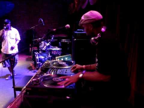 DJ Suga Ray and YUME Live at Brooklyn Bowl, 7/05/10.