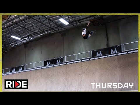 MasterClass Presents Tony Hawk's NBD/Best Trick Challenge: Day 2