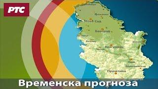 Vremenska prognoza - 25. januar 2020. do kraja dana