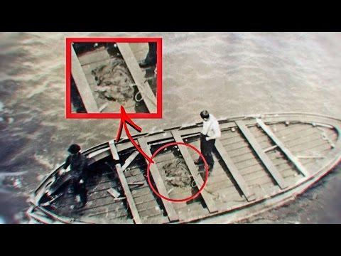 شاهد ما وجدوه على آخر قارب إنقاذ في سفينة تايتانك !!