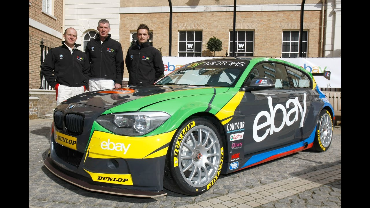 Ebay motors returns to BTCC in 2013 with new car and drivers ...
