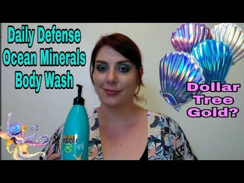 Daily Defense Ocean Minerals Body Wash | Dollar Tree Gold