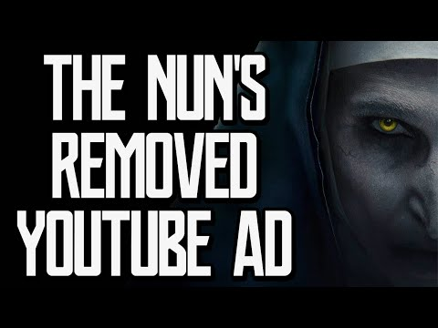 A Brief Look at the Removed Youtube Ad for 'The Nun'