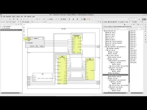 DVT Eclipse IDE Diagrams - How to Generate HDL Diagrams