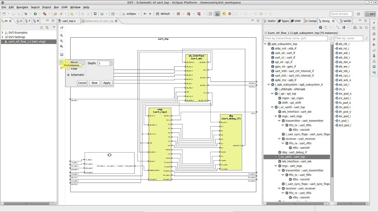 dvt eclipse ide diagrams how to generate hdl diagrams [ 1280 x 720 Pixel ]