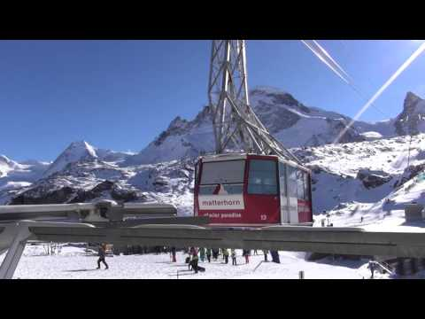 klein Matterhorn Cable Car