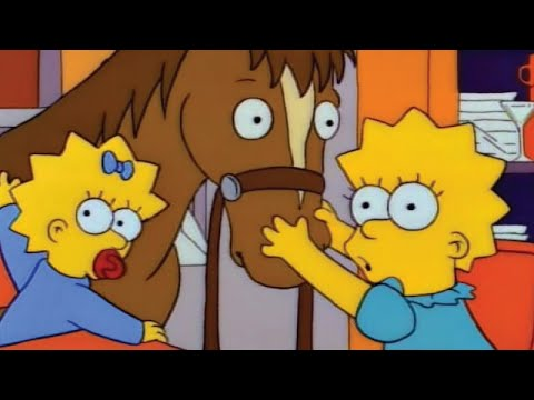 Homer Surprises Lisa with a Stunning New Pony