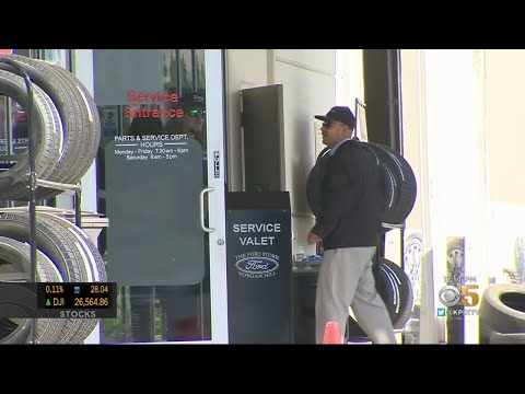 Workers Return To Morgan Hill Ford Dealership Two Days After Fatal Shooting