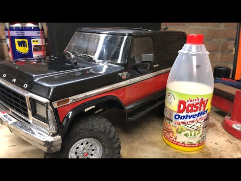 How To clean a Rc car