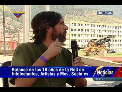 X Encuentro de Intelectuales: Alfredo Serrano Mancilla entrevistado desde el Cuartel 4F