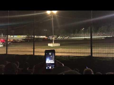 Grandview Speedway PA Speedweek 2018 4 Wide Salute