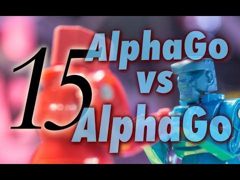 AlphaGo vs. Alphago with Michael Redmond 9p: Game 15