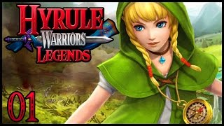Hyrule Warriors Legends 3DS Part 1 Linkle Gameplay Walkthrough