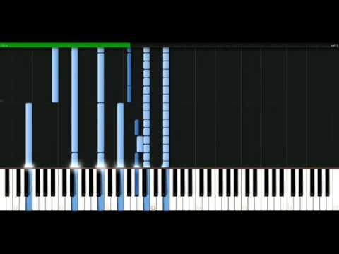 Jimmy Eat World - You hear me [Piano Tutorial] Synthesia | passkeypiano